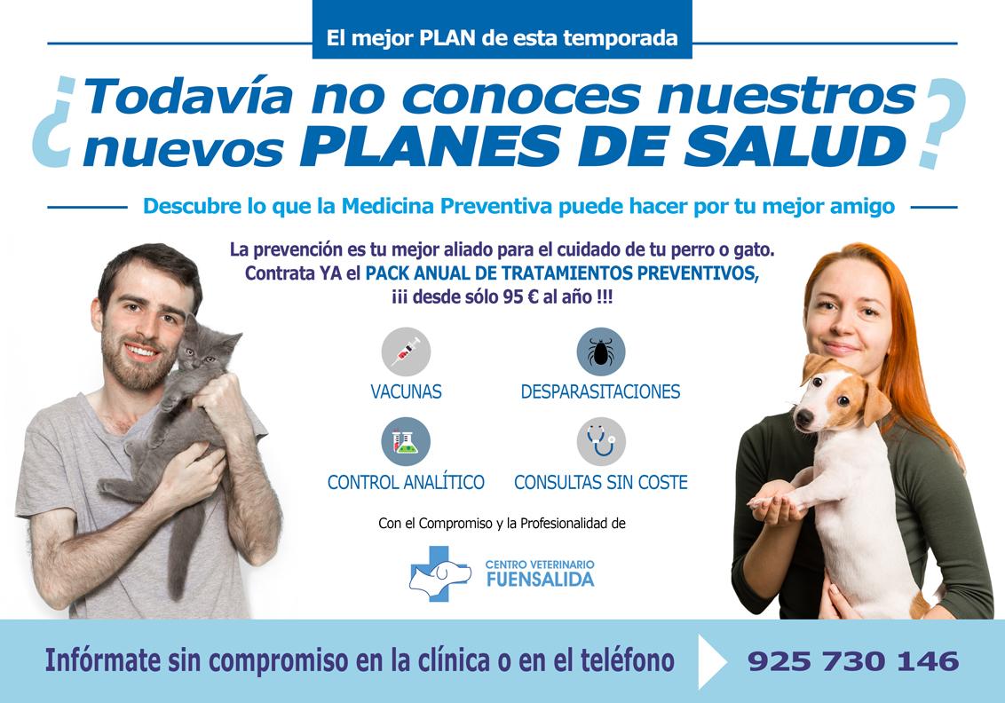 Planes de Salud Centro Veterinario Fuensalida
